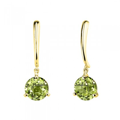 Peridot dangle earrings 393648