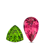 Peridot or Spinel