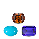 Zircon, Tanzanite & Turquoise