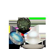 Birthstones Pearl Moonstone Alexandrite