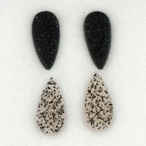 Drusy Onyx and Chalcedony