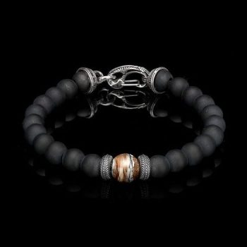 340191 - Clan Bead Bracelet With Mammoth Tooth