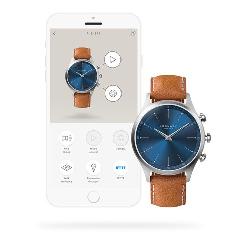 Kronaby sekel-41mm-S3124 Smartwatch #280017 watch App