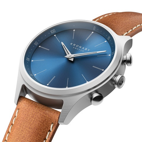 Kronaby sekel-41mm-S3124 Smartwatch #280017 watch Side