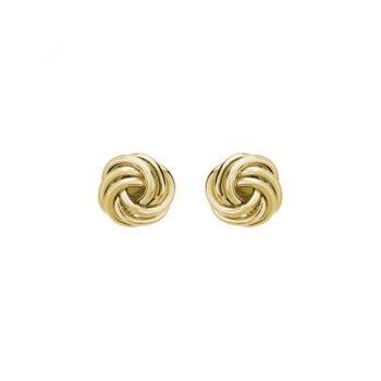 Small Knot Stud Earrings