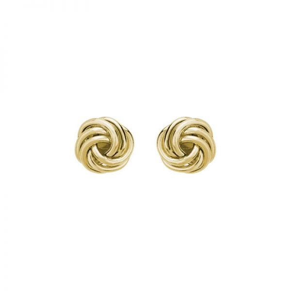 Small Knot Stud Earrings