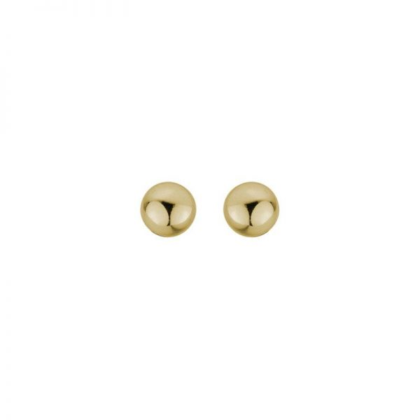 Yellow Gold Stud Earrings