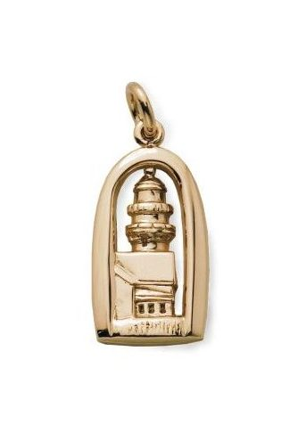 Two Lights Lighthouse Charm