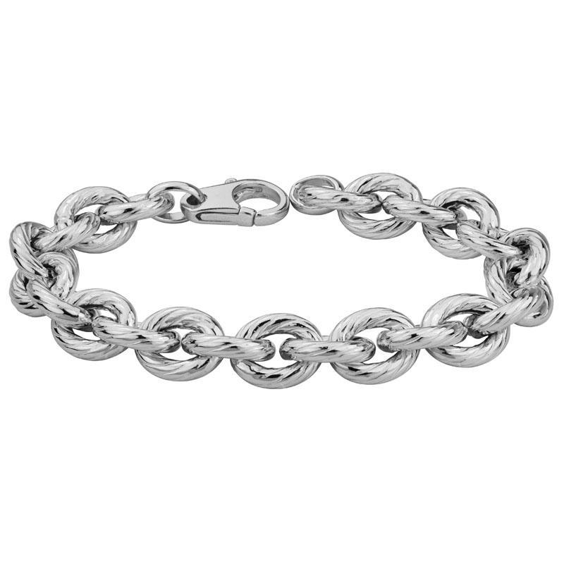 265087 - Ridged Ovals Bracelet