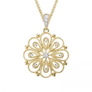 Delicate Blossom Necklace 230927