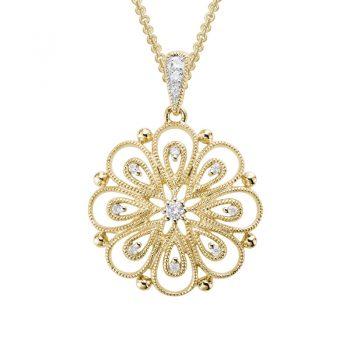 Delicate Blossom Necklace 230927