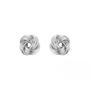 Love Knot post earrings Sterling Silver 7mm 265659