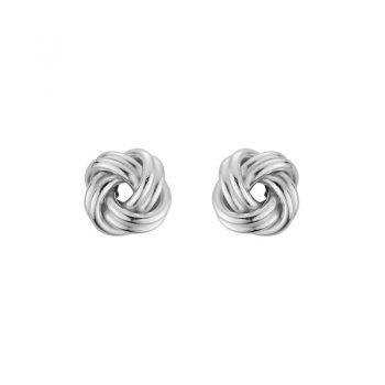 Love Knot post earrings Sterling Silver 7mm 265659