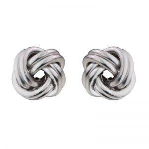 Love Knot post earrings Sterling Silver 11mm 265660