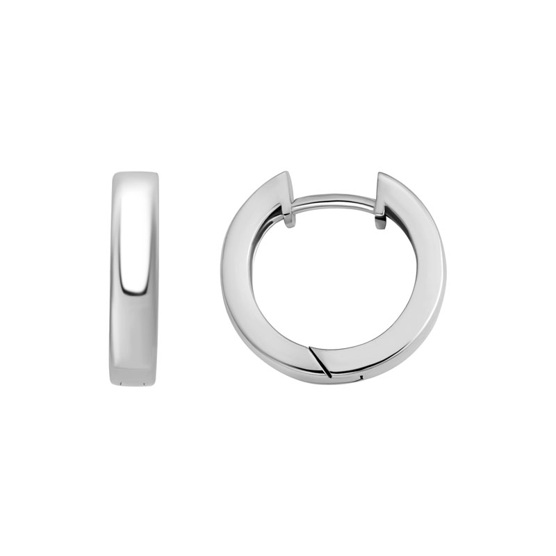 Huggie Hoops petite low domed Sterling Silver 265666