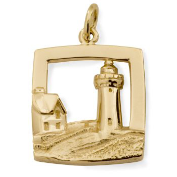 Y-285-14Y - 230685 - Nubble Lighthouse Charm