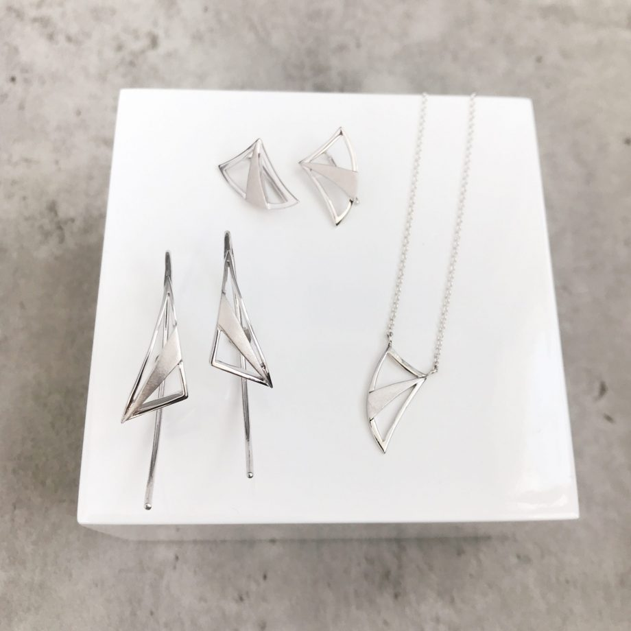 Artemis Collection in sterling silver