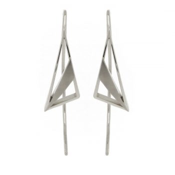 Artemis Divine Crescent Earrings
