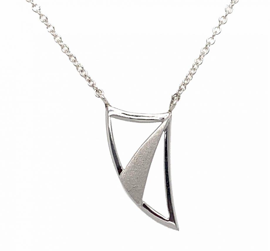 Artemis Olympian Bow Necklace