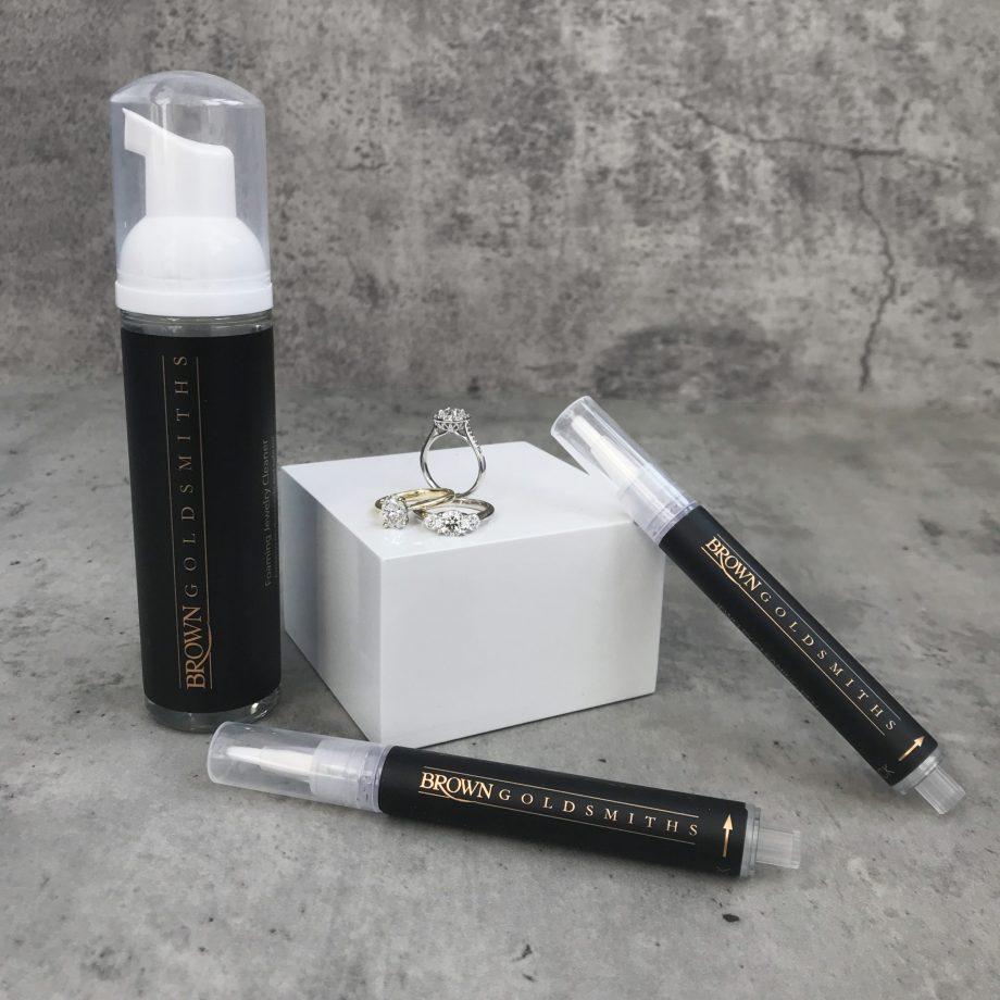 Jewelry Cleaner foam & pen