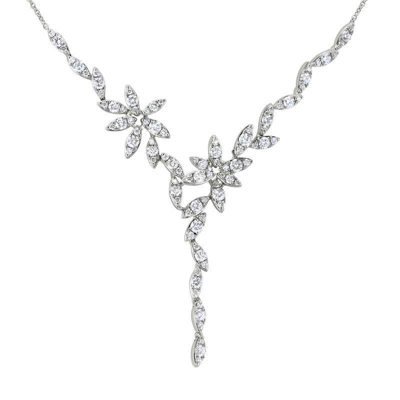 Diamond Y Necklace