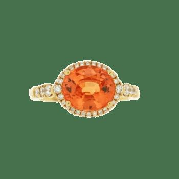 160563 - Spessartite Garnet Ring
