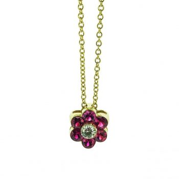 140855 - Flower Pendant