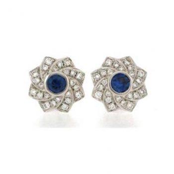 140966 - GEY86NVW23BS - Flower Stud Earrings