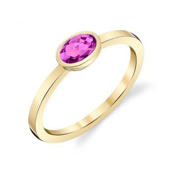 170559 - 20720m1-RPT-14K - Pink Tourmaline Ring