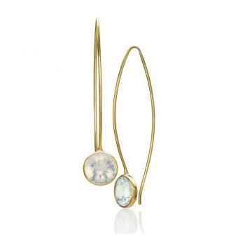 201197 - COE14Y8PoOO - Opal Comet Earrings
