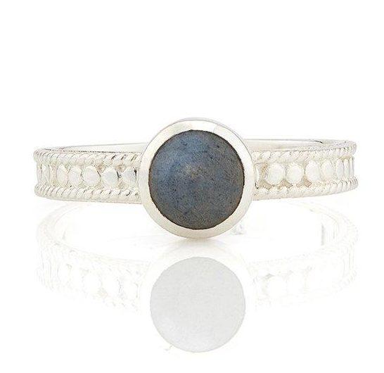 265455 - Labradorite Stackable Ring