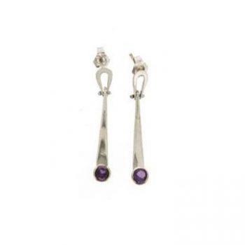 392459 - Amethyst Dangle Earrings