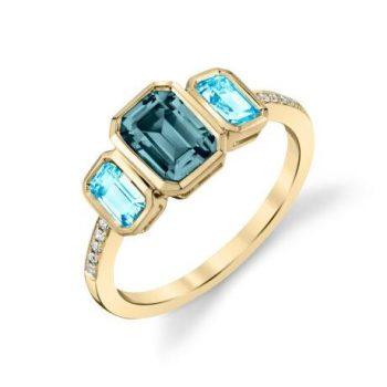 13930-RLB-BT - 160567 - London Blue Topaz Ring