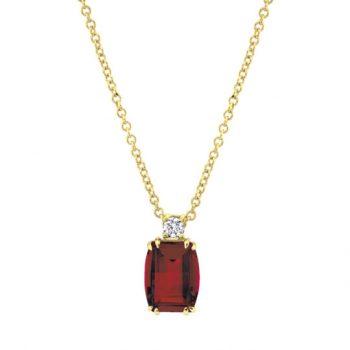 20130-NGA - 393805 - Garnet Necklace