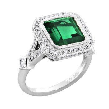 22885-GT - 160583 - Green Tourmaline Ring