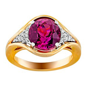25975-RUB - 160584 - Rubellite Ring