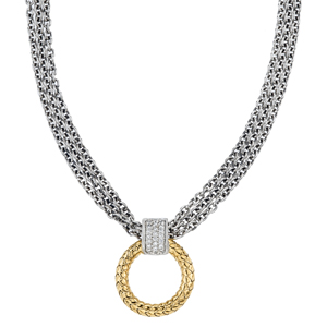 265738 - VHN 1407 D - Traversa Circle Necklace