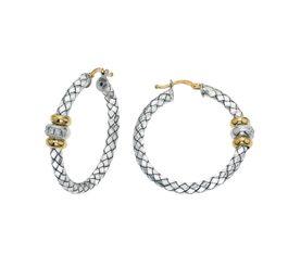 265740 - VHE 1160 D - Traversa Hoop Earrings