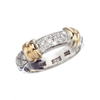 265744 - VHR 599 D - Traversa Ring with Diamonds