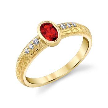 31930-RRU - 120694 - Oval Ruby Ring
