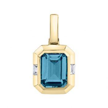 31950-PLB - 393808 - London Blue Topaz Pendant