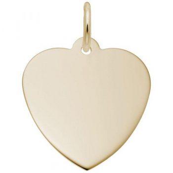 4609 - 242316 - Engravable Heart Charm