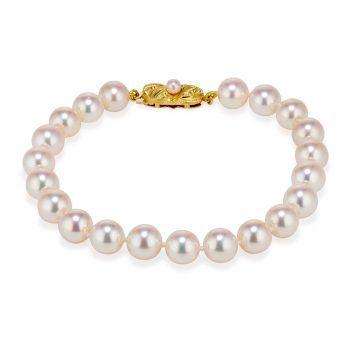 Cultured Akoya Pearl Bracelet