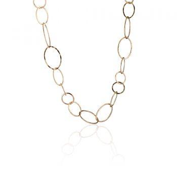 Large Oval Multi Link Necklace