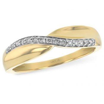 D5019 - 060874 - Diamond Twist Ring