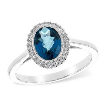 D5633 - 170575 - London Blue Topaz Ring