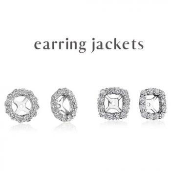 Earring Jackets from OM